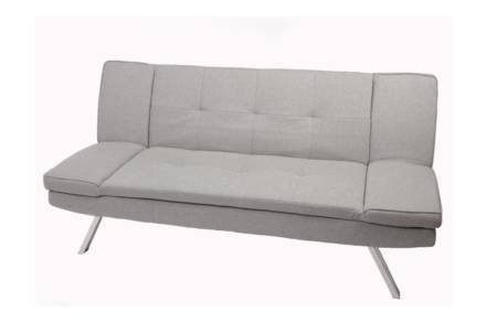 Τριθέσιος Καναπές κρεβάτι με τεχνολογία Click Clack
