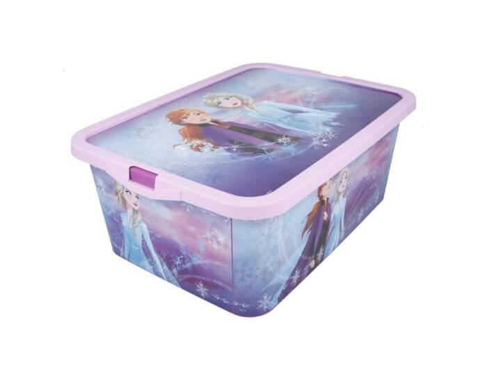 Frozen II πλαστικό κουτί αποθήκευσης παιχνιδιών για το παιδικό δωμάτιο