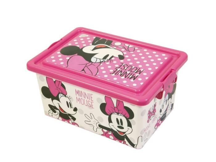 Minnie Mouse πλαστικό κουτί αποθήκευσης παιχνιδιών για το παιδικό δωμάτιο