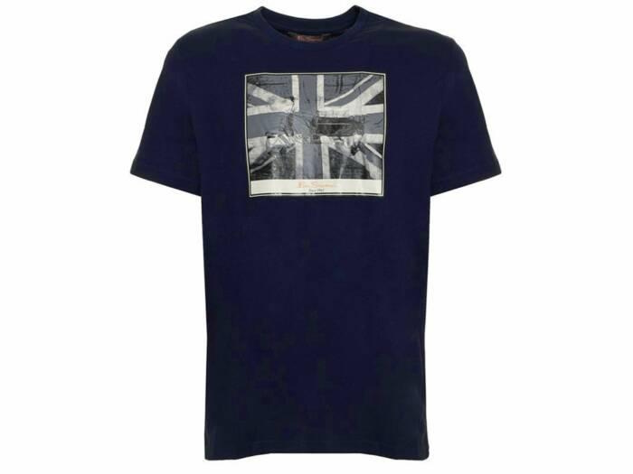 Ben Sherman Ανδρικό T-Shirt σε Μπλε Χρώμα
