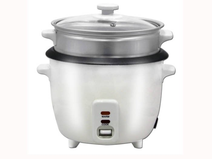 Herzberg Παρασκευαστής ρυζιού και Ατμομάγειρας 700W 1.8L