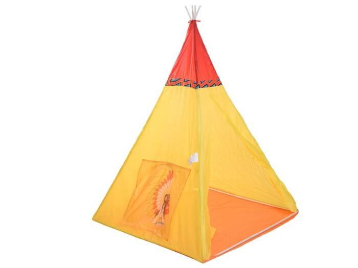 Play Tent Παιδική Ινδιάνικη Σκηνή σε κίτρινο χρώμα