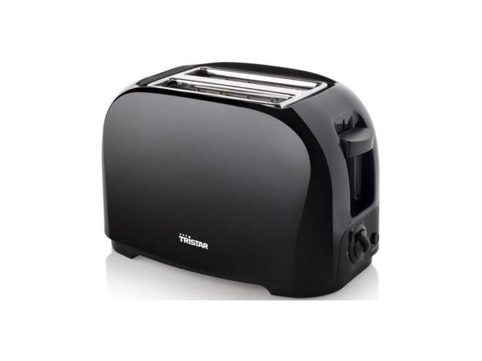 Tristar Φρυγανιέρα 800W 2 θέσεων με σχάρα για ψωμάκια σε μαύρο χρώμα