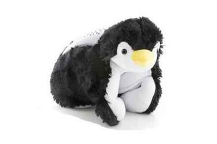 Λούτρινος Προβολέας σε σχήμα πιγκουίνου