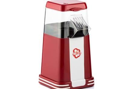Συσκευή Παρασκευής Ποπ Κορν Hot & Salty Times 1200W σε κόκκινο χρώμα