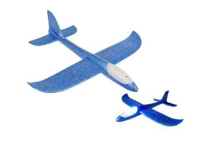 Παιδικό Αεροπλάνο Συναρμολογούμενο με LED φωτισμό σε μπλε χρώμα