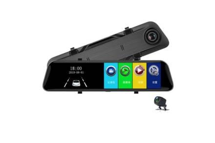 Διπλή Κάμερα Καθρέπτης 12'' 1080P Full HD με οθόνη αφής