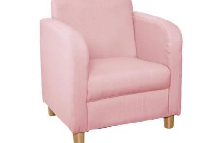 Παιδική Πολυθρόνα σε ροζ χρώμα