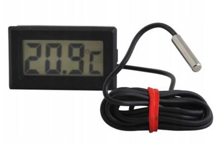Ψηφιακό Θερμόμετρο Ενυδρείου με οθόνη LCD και καλώδιο μήκους 1m