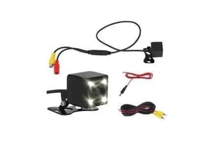 Αδιάβροχη Κάμερα οπισθοπορείας με νυχτερινή λήψη σε μαύρο χρώμα