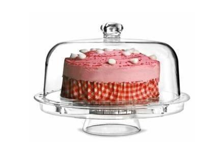 Τουρτιέρα Πιατέλα Σκεύος σερβιρίσματος 6 σε 1 για σερβίρισμα φαγητού και γλυκών