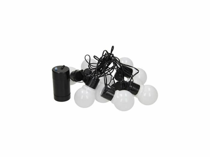 Party Lighting Αδιάβροχα 10 LEDs Φωτάκια Λαμπτήρες Εξωτερικού Χώρου με καλώδιο 6m
