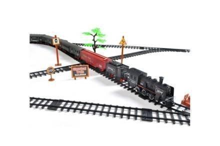 Σιδηρόδρομος με Ηλεκτρικό Ατμοκίνητο Τρένο μήκους 700 cm