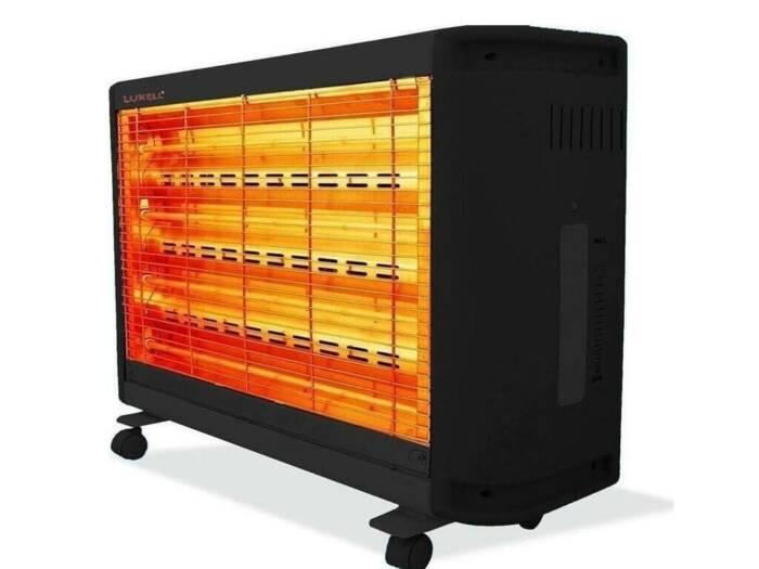 Ηλεκτρική Θερμάστρα Σόμπα με 4 λυχνίες χαλαζία 2200W