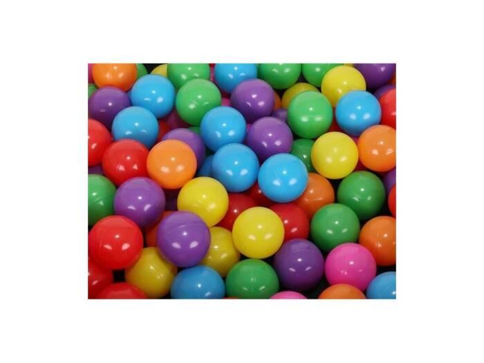 Σετ Χρωματιστά Μπαλάκια 100 τεμαχίων Παιδότοπου μεγέθους 5 cm για εσωτερικό και εξωτερικό χώρο
