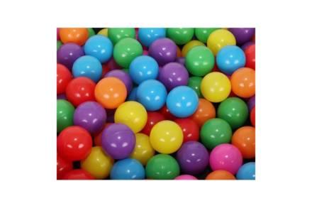 Σετ Χρωματιστά Μπαλάκια 200 τεμαχίων Παιδότοπου μεγέθους 5 cm για εσωτερικό και εξωτερικό χώρο