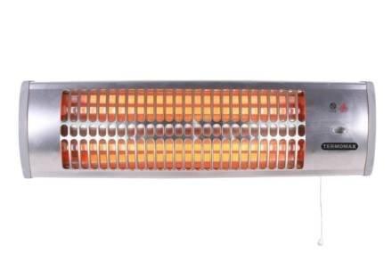 Επιτοίχια Ηλεκτρική Θερμάστρα Σόμπα Χαλαζία 1200W