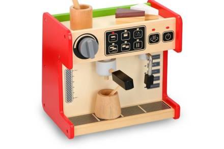 Ξύλινο Παιδικό Παιχνίδι Coffee Shop 2 σε 1 με αξεσουάρ