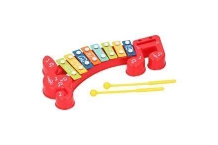 Παιδικό Ξυλόφωνο με 8 πλάκες νότες για εκμάθηση τόνων και μουσικής