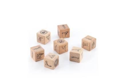 Σετ Παιχνίδι με Ζάρια για Γιόγκα Anandice 7 τεμαχίων