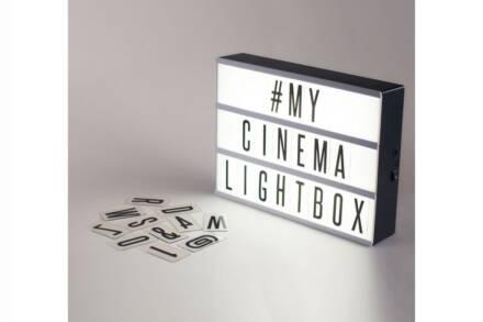 Φωτιζόμενος Πίνακας Πινακίδα LED A4 με 72 γράμματα και Σύμβολα σε Λευκό Χρώμα