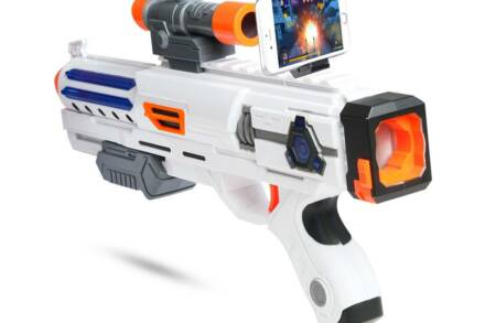 Ασύρματο Όπλo ΑR-GUN με βάση κινητού για Gaming και 34 ενσωματωμένα παιχνίδια - Aria Trade