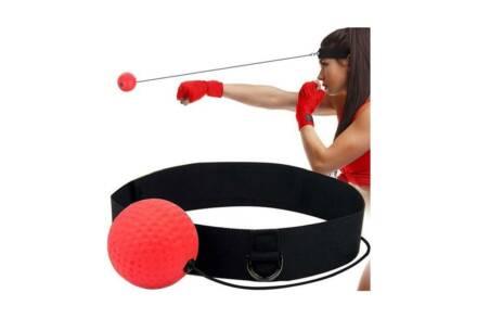 Μπάλα Γυμναστικής για την εξάσκηση των αντανακλαστικών σε κόκκινο χρώμα - Aria Trade