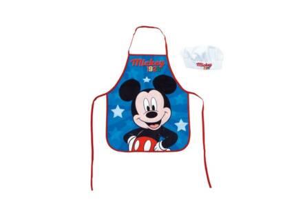 Παιδική ποδιά μαγειρικής Mickey Mouse με καπέλο chef