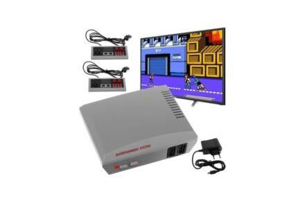 Retro παιχνιδοκονσόλα με σύνδεση HDMI στην τηλεόραση