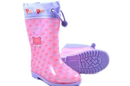 Παιδικές Γαλότσες για κορίτσια με θέμα Peppa