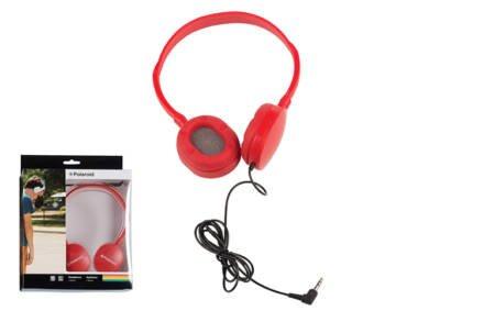 Στερεοφωνικά Ακουστικά Κεφαλής με μαξιλαράκια σιλικόνης σε Κόκκινο χρώμα