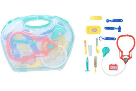 Eddy Toys Παιχνίδι Σετ Γιατρού 13 τεμαχίων ιατρικά εργαλεία σε βαλιτσάκι