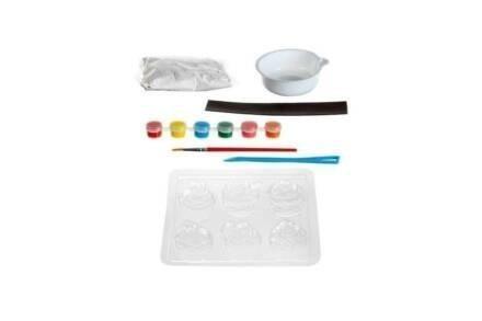 Σετ Κατασκευής για Μαγνητάκια σε σχέδιο Cupcake