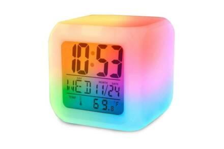 Ψηφιακό Επιτραπέζιο Ρολόι με ένδειξη Θερμοκρασίας