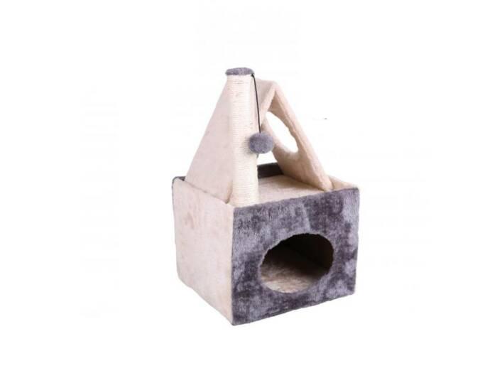 Ονυχοδρόμιο Γάτας Γατόδεντρο με στύλο ξυσίματος από Sisal