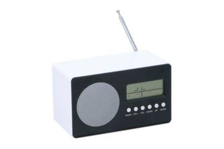 Dunlop Ρολόι Ξυπνητήρι με Ραδιόφωνο και άλλες λειτουργίες