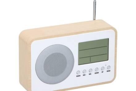Dunlop Bluetooth Ρολόι Ξυπνητήρι με Ραδιόφωνο και άλλες λειτουργίες