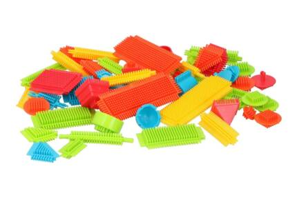Σετ Τουβλάκια 58 τεμαχίων σε διάφορα χρώματα