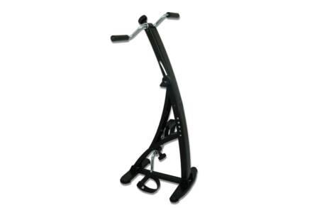 Πτυσσόμενο διπλό στατικό ποδήλατο γυμναστικής για χέρια και πόδια