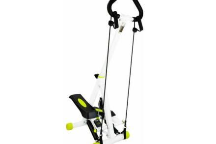 Αναδιπλούμενο Stepper γυμναστικής με ψηφιακό μετρητή και λάστιχα αντίστασης