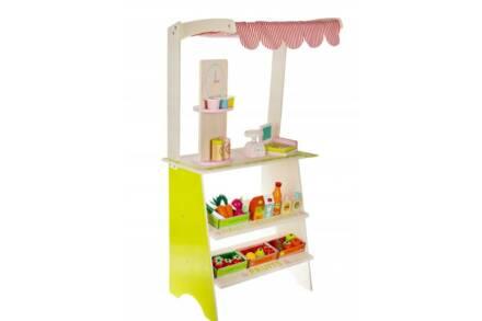 Ξύλινο Παιδικό Παιχνίδι Μίμησης Μαγαζί με αξεσουάρ