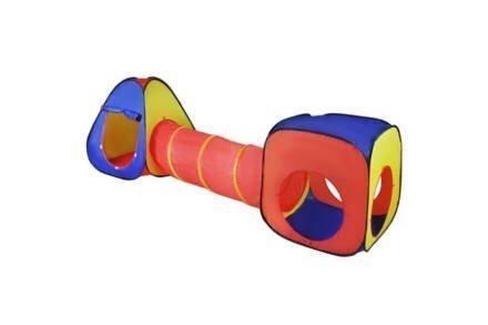 Αναδιπλούμενο παιδικό σπιτάκι αποτελούμενο από κύβο
