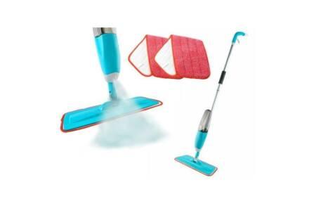 Σφουγγαρίστρα με Σπρέι Ψεκασμού Spray Mop και Πανάκι με χωρητικότητα δοχείου 600ml
