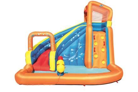 Bestway H2OGO! Mega Waterpark Φουσκωτός Παιδότοπος με πισίνα