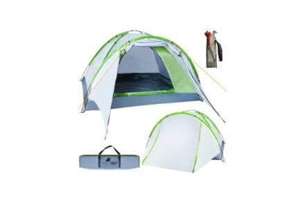 Σκηνή Camping 2-4 ατόμων με extra σκιαστρο πόρτας