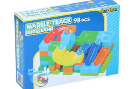 Σετ Πλαστικά Τουβλάκια 98 τεμαχίων με 4 Βόλους για ατέλειωτες ώρες Παιχνιδιού και Δημιουργίας