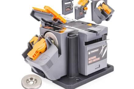 PowerMat Επαγγελματικό Ηλεκτρικό Ακονιστήρι 170W με στροφές 1350 obr/min