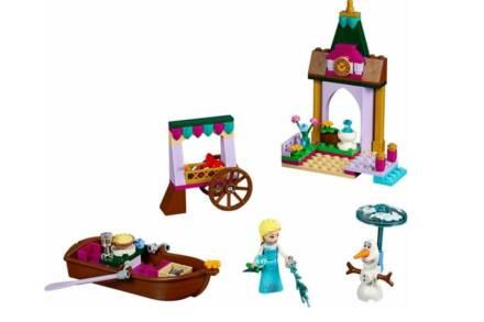 Τουβλάκια Lego Disney Princess: Elsa's Market Adventure 41155 125 Τεμαχίων