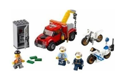 Τουβλάκια Lego City Police Tow Truck Trouble 60137 144 τεμαχίων για παιδιά 5-12 ετών